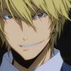 Mizuho: shizuo // scary grin