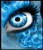 blue, fire, eyes
