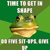 Mystrys: Frog workout