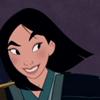 Mulan Fa: smile; i has a plan