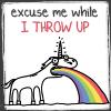 seegrim: barfing unicorn