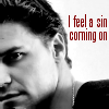A sin coming on