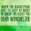 thecrunchie: SPN Dean Boogyman