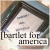 Eliane/Jennifer: Bartlet WestWing