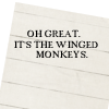 Carrie Leigh: winged monkeys