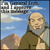Chibi Furry Jackal: Iroh Approves