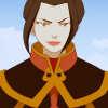 Princess Azula of the Fire Nation: smiling is still suspicious