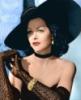Hedy Lamarr в чёрном