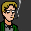 smoking, james, silent hill