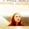 sue but not sylvester: who - amy; the world is waiting