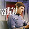 Spock writing fanfic
