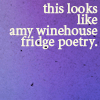 Rosey: GNW - Fridge Poetry