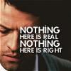 Rosey: Castiel - Nothing