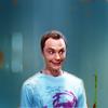 big bang theory: smiling sheldon