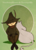 Snufkin_and_Moomintroll_by_wolfself