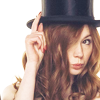 Amy in hat