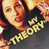 "X-Files: Scully: ""Theory"""