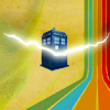 cracked TARDIS