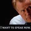 """I want to speak now."""