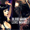 blood/love market