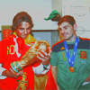 football // iker and rafa ♥