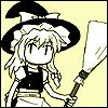 Kirisame Marisa: Hello. I'm a witch.