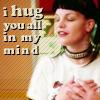 Hug, Abby