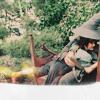 the village idiot: flying hobbit hug___