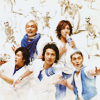 SMAP ☂ group blue and white
