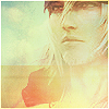 { the hero } gazes at the horizon