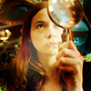 Meghan: magnifying glass