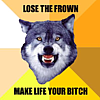 LOSE THE FROWN