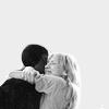 Hardison/Parker hug