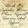 divide by cumcumber, reload discworld