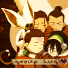 schneefink: a:tla group hug