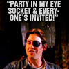 Goosey: (BTVS) Party time!