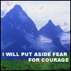 Fear for Courage