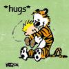 Miya Tenaka: Calvin & Hobbes - Hug
