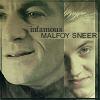 Slytherin Skin: Malfoy sneer