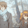 a regular decorated emergency.: Itsuki/Haruhi - the long winter road