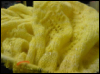 shawl, beads, lemonflower