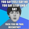 F U I'm Paul McCartney