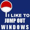 manhattan: Uchiha   They like to jump out windows