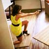 Gaby: shoot in shoulder; stomp on spiked heel