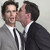 White Collar kiss
