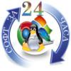 logo, soft24