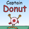 sinfulslasher: garfield captain donut