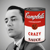 allie calls me the Sasstress.: mad men; campbell's crazy sauce