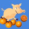апельсин, свинья