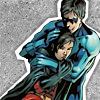 constructed by a sociopath in a sweatervest: Brothers-Robin&Nightwing